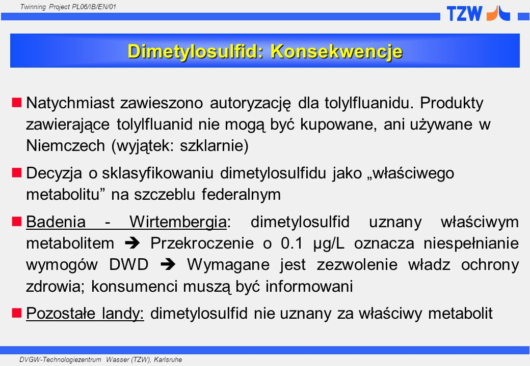Dimetylosulfid: Konsekwencje