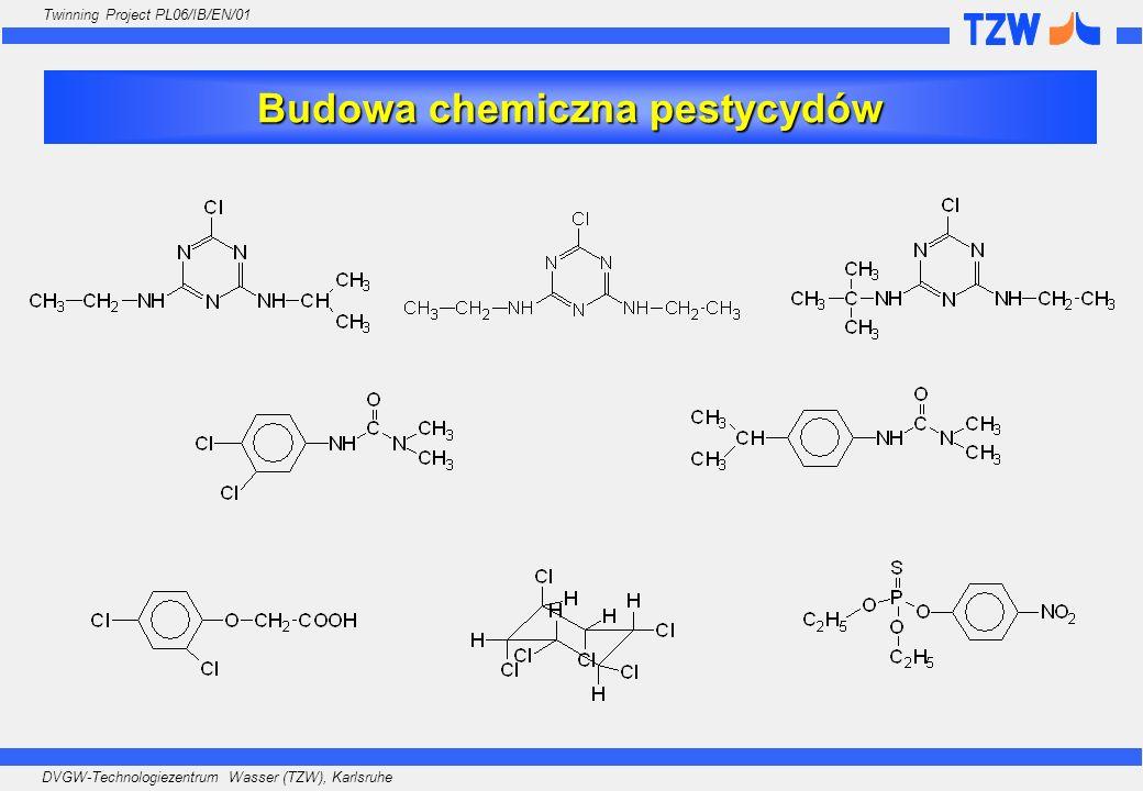 Budowa chemiczna pestycydów