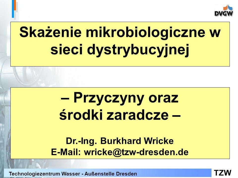 Skażenie mikrobiologiczne w sieci dystrybucyjnej