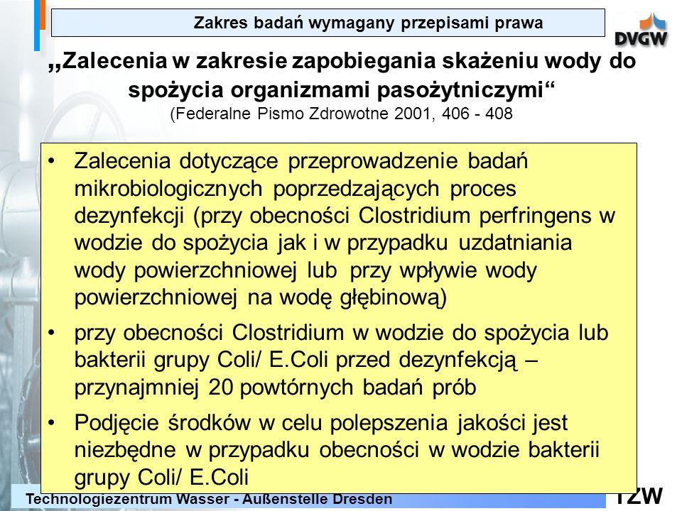 (Federalne Pismo Zdrowotne 2001, 406 - 408