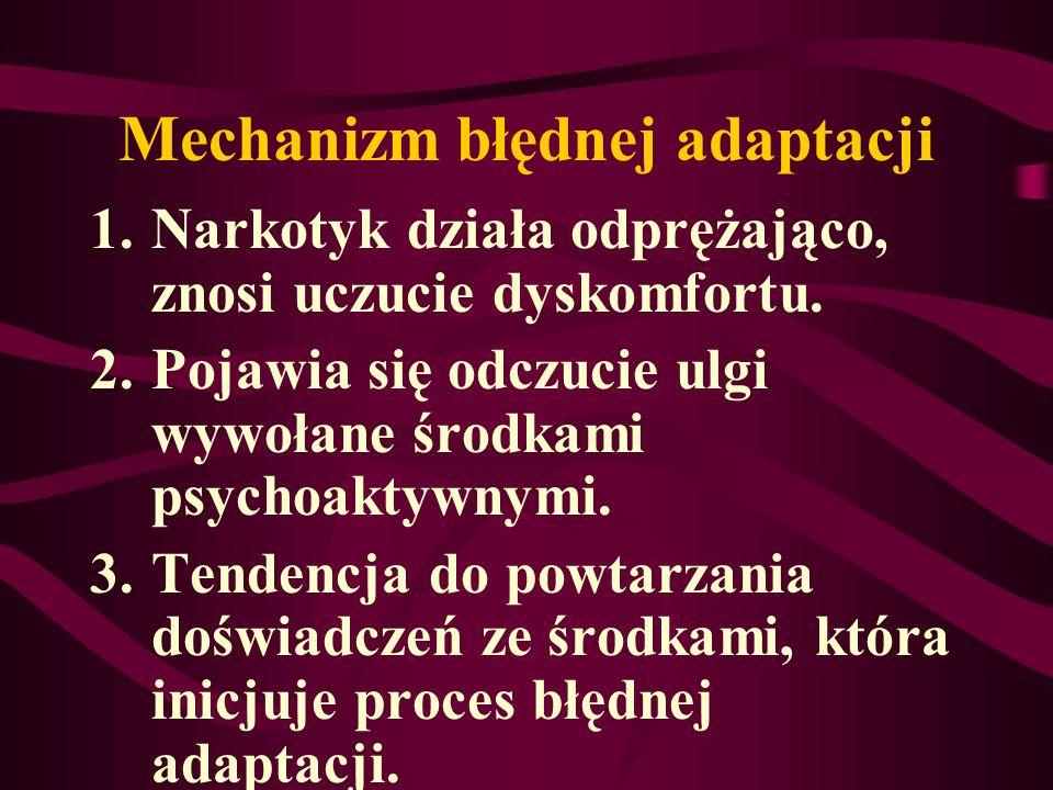 Mechanizm błędnej adaptacji