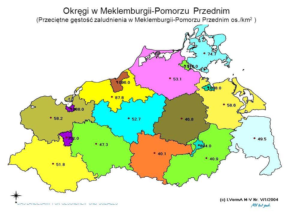 Okręgi w Meklemburgii-Pomorzu Przednim