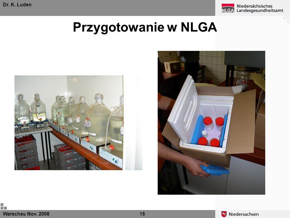 Dr. K. Luden Przygotowanie w NLGA Warschau Nov. 2008 15