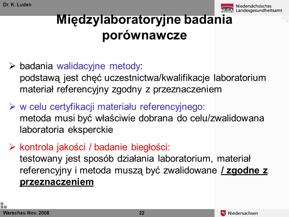 Międzylaboratoryjne badania porównawcze