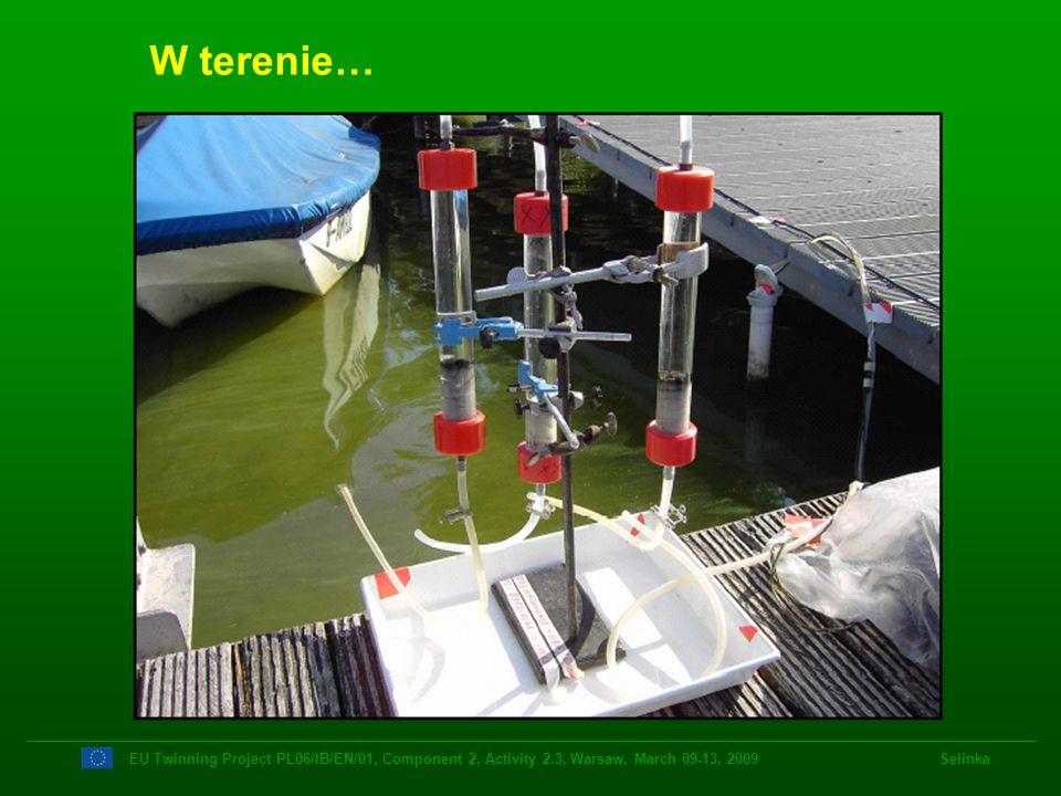 W terenie…EU Twinning Project PL06/IB/EN/01, Component 2, Activity 2.3, Warsaw, March 09-13, 2009 Selinka.