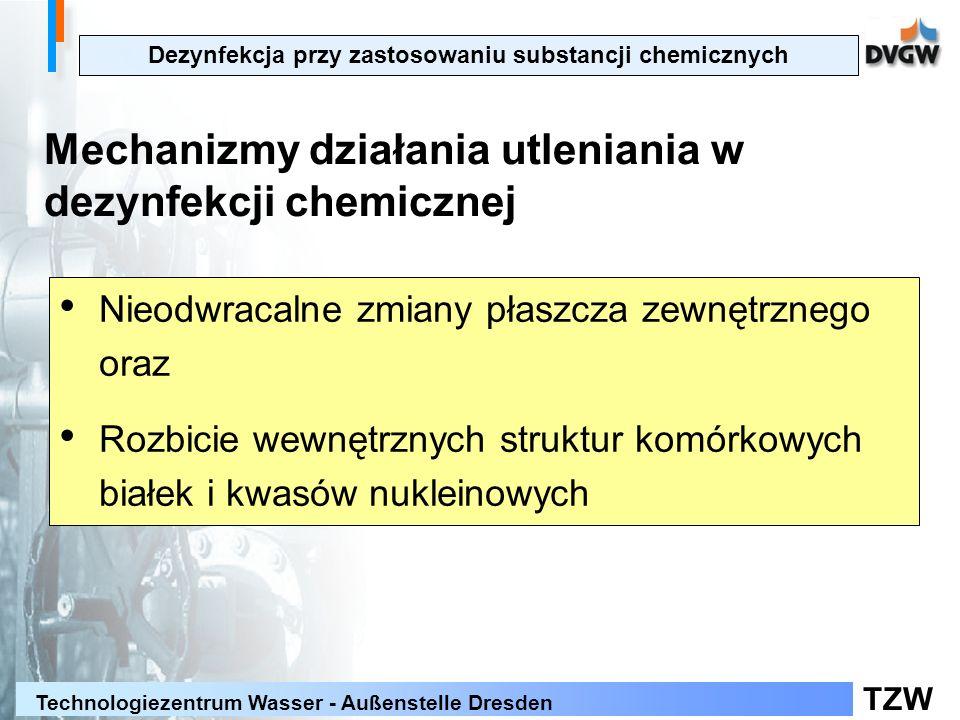 Dezynfekcja przy zastosowaniu substancji chemicznych