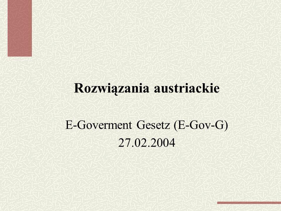 Rozwiązania austriackie