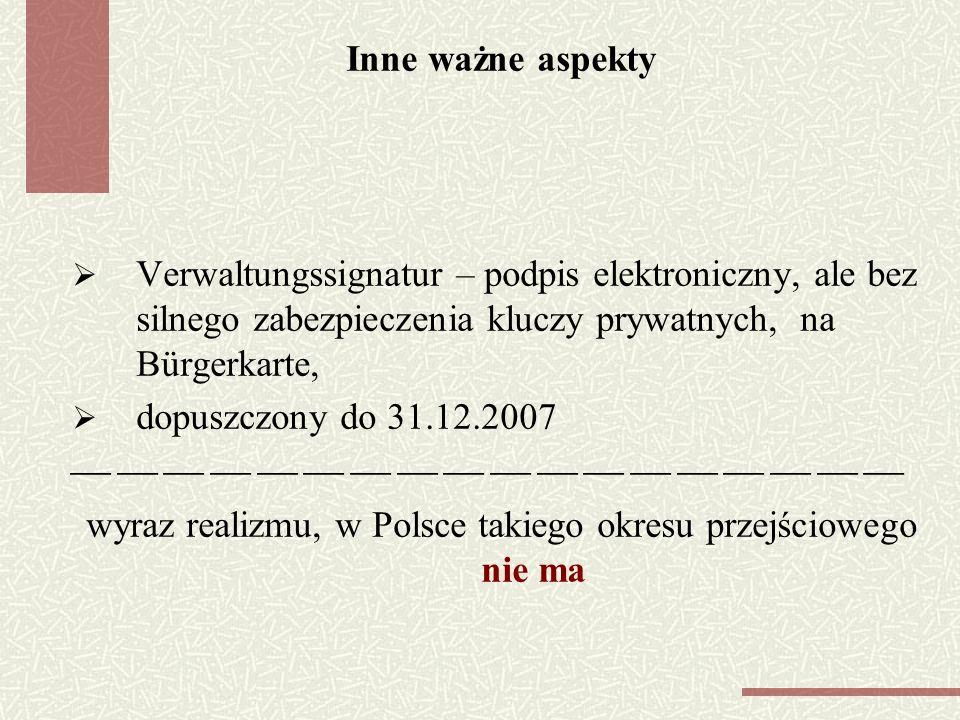 wyraz realizmu, w Polsce takiego okresu przejściowego nie ma