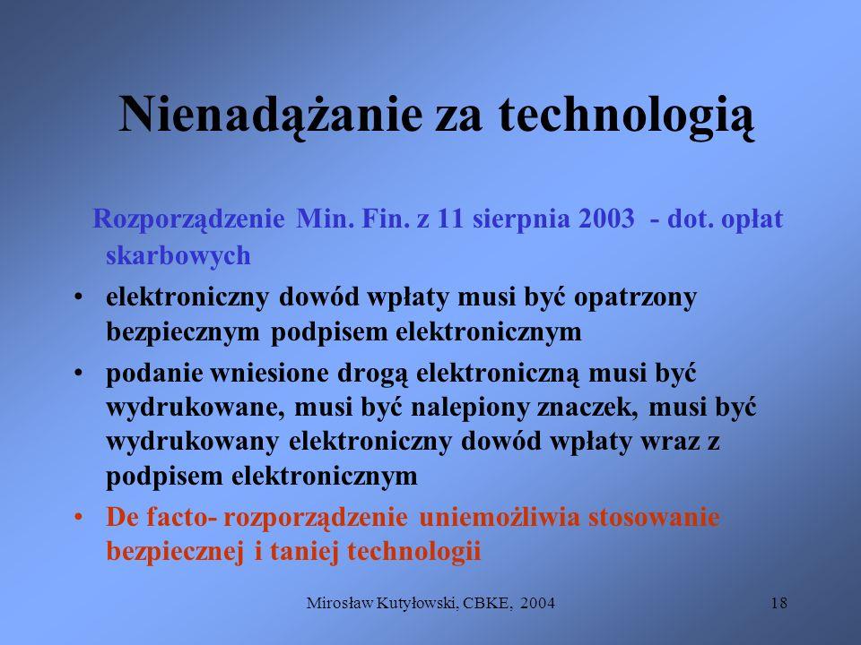 Nienadążanie za technologią