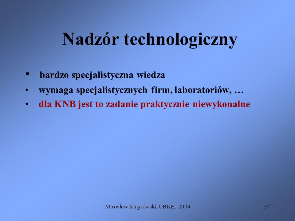 Nadzór technologiczny