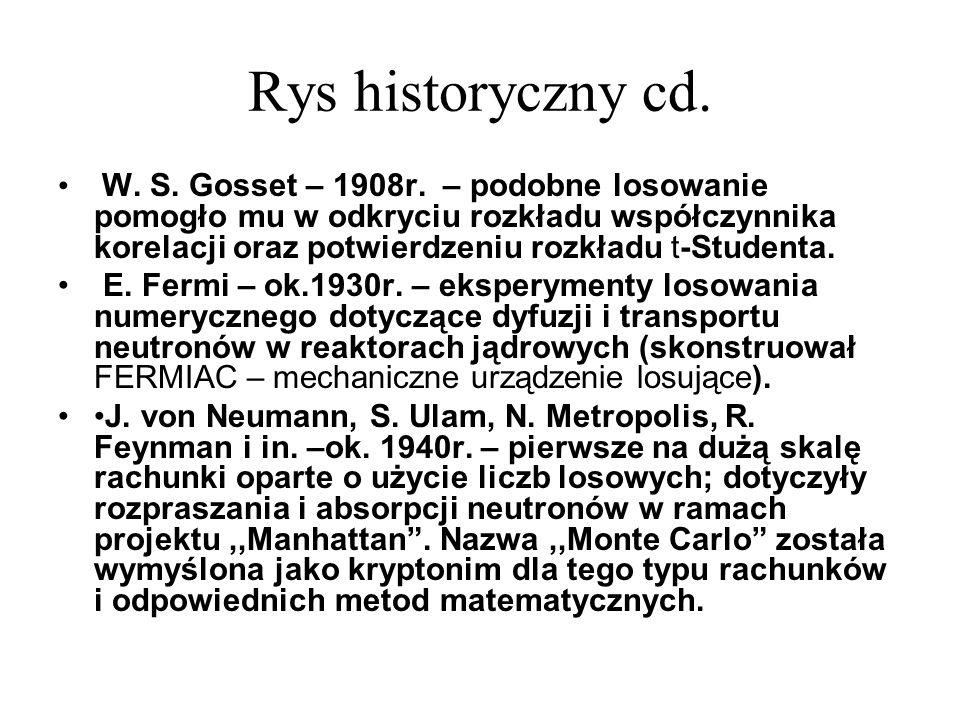 Rys historyczny cd.