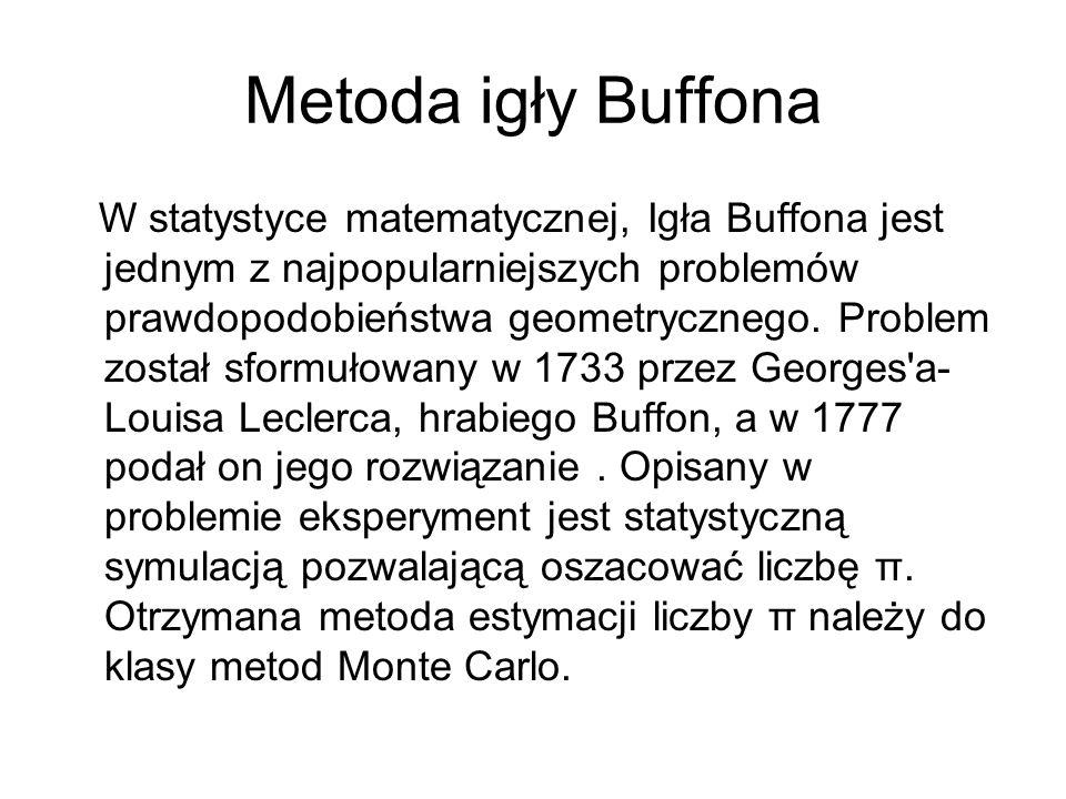 Metoda igły Buffona