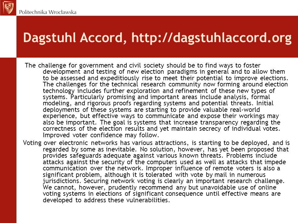 Dagstuhl Accord, http://dagstuhlaccord.org