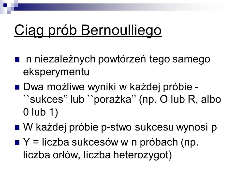 Ciąg prób Bernoulliego