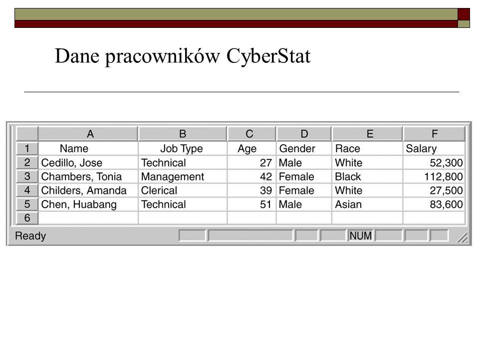 Dane pracowników CyberStat