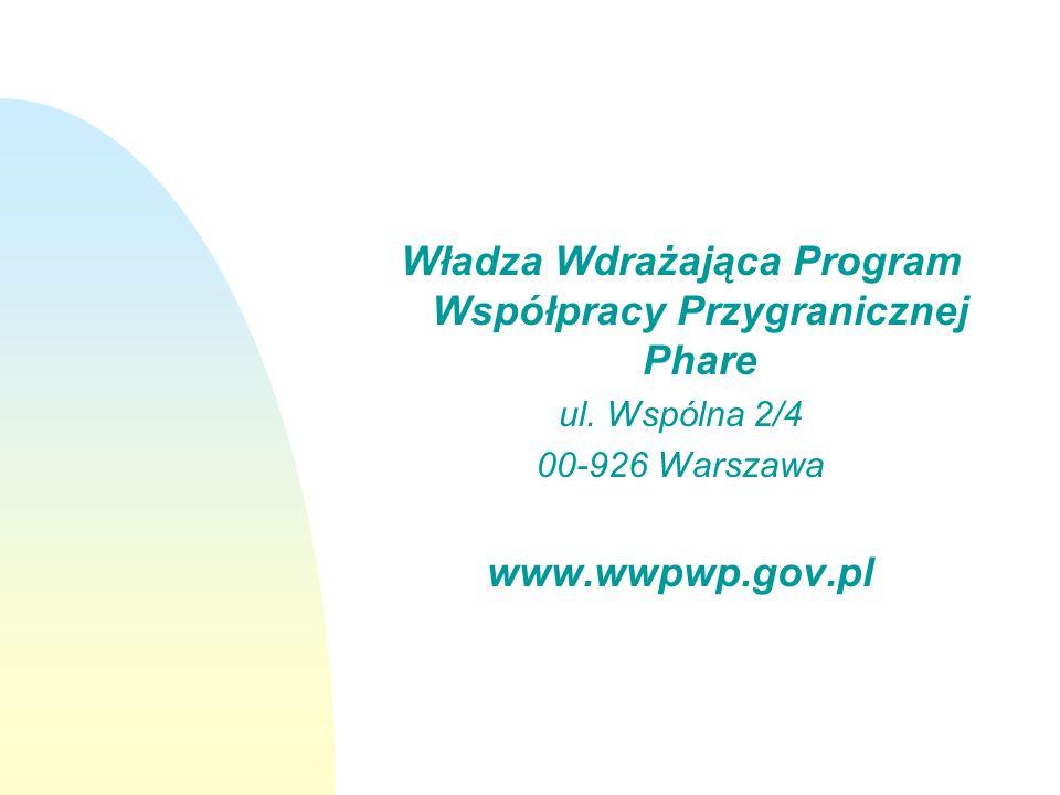 Władza Wdrażająca Program Współpracy Przygranicznej Phare