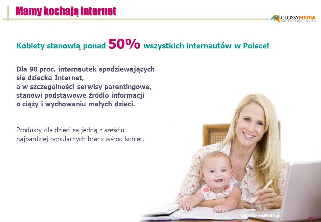 Mamy kochają internet Kobiety stanowią ponad 50% wszystkich internautów w Polsce!