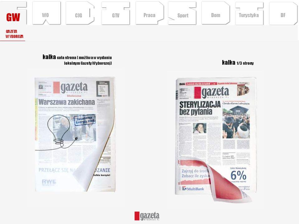 GW kalka cała strona ( możliwa w wydaniu lokalnym Gazety Wyborczej)
