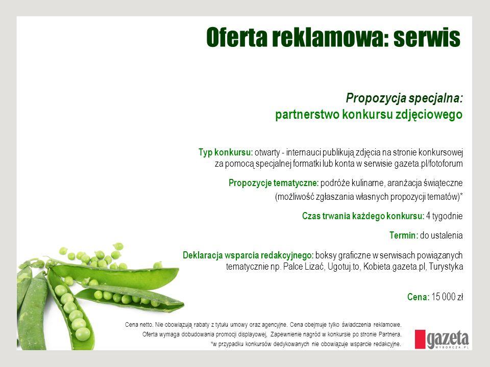 Oferta reklamowa: serwis