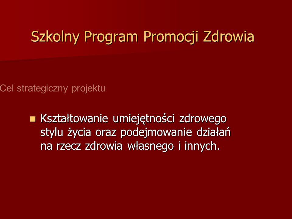 Szkolny Program Promocji Zdrowia