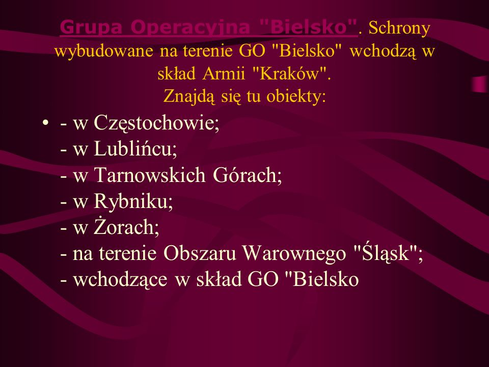 Grupa Operacyjna Bielsko