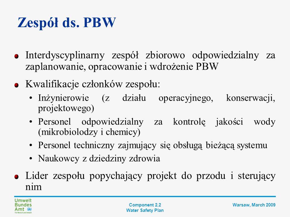 Zespół ds. PBW Interdyscyplinarny zespół zbiorowo odpowiedzialny za zaplanowanie, opracowanie i wdrożenie PBW.