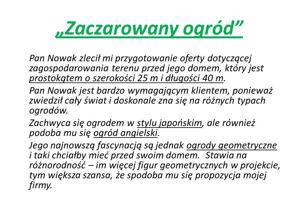 """""""Zaczarowany ogród"""