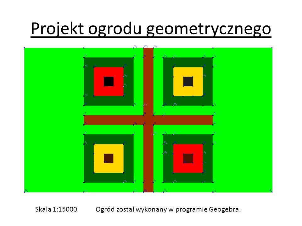 Projekt ogrodu geometrycznego