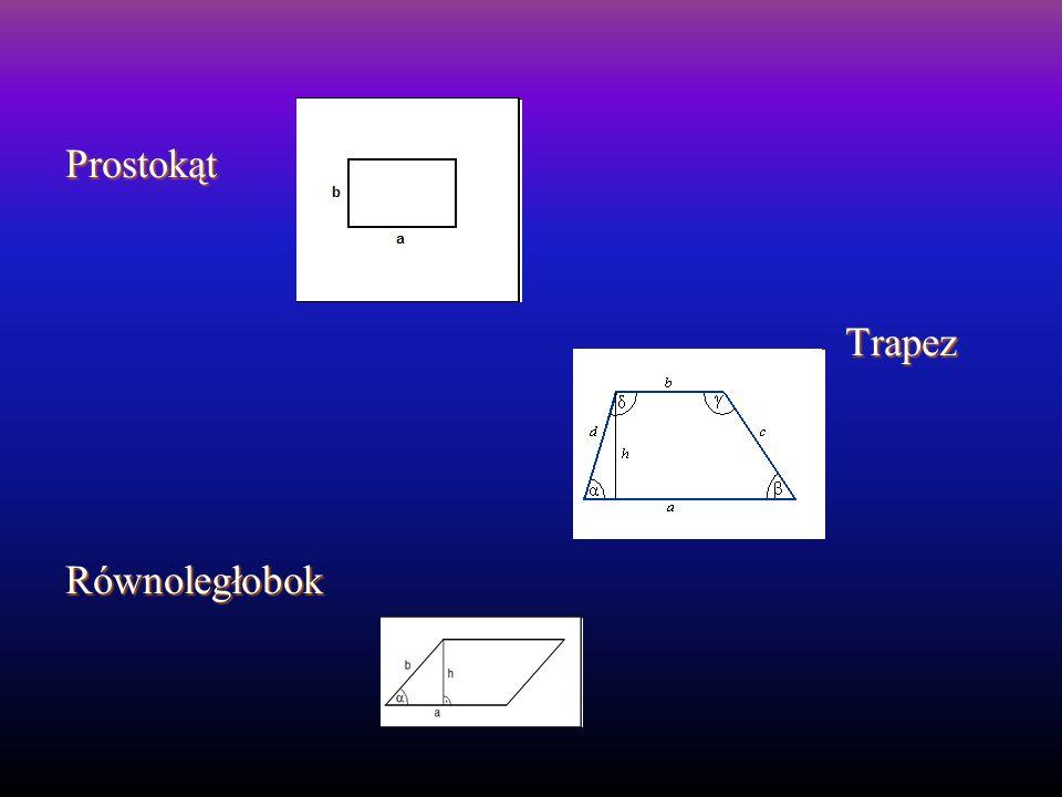 Prostokąt Trapez Równoległobok