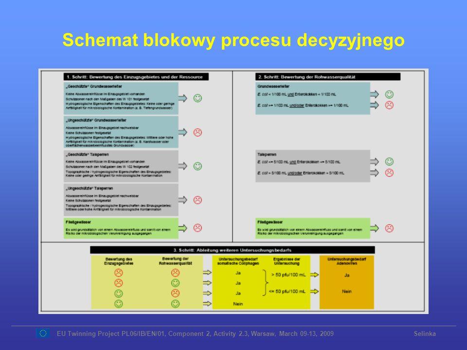 Schemat blokowy procesu decyzyjnego