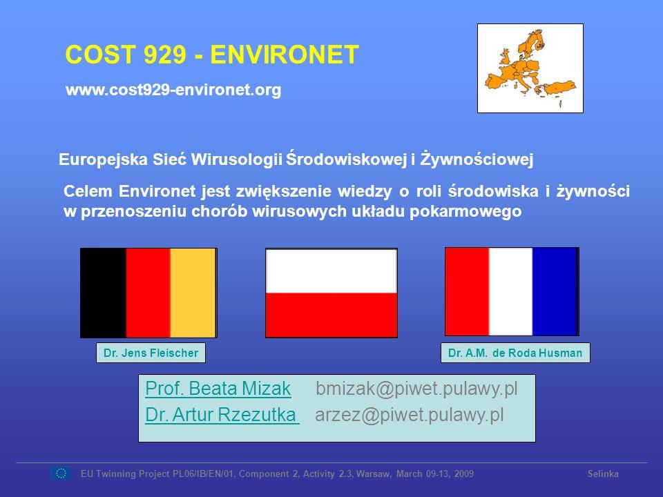 Europejska Sieć Wirusologii Środowiskowej i Żywnościowej