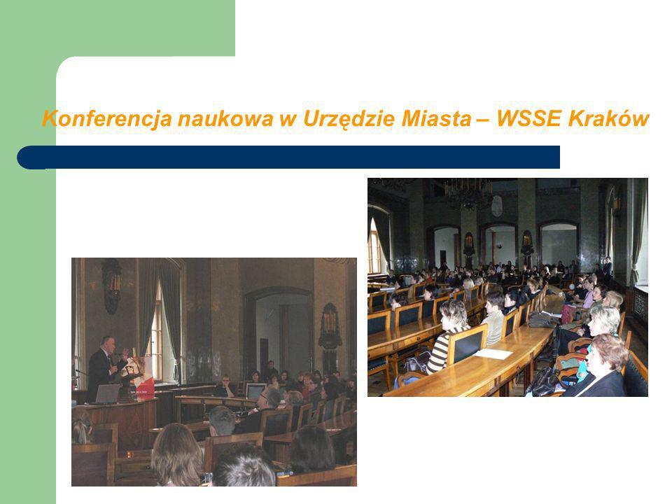 Konferencja naukowa w Urzędzie Miasta – WSSE Kraków