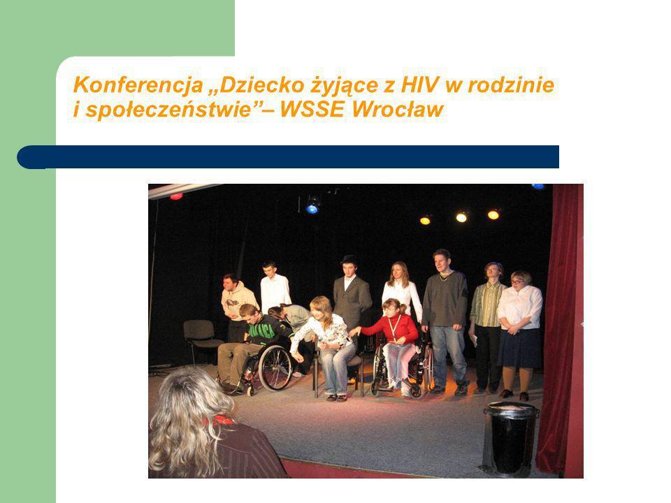 """Konferencja """"Dziecko żyjące z HIV w rodzinie i społeczeństwie – WSSE Wrocław"""