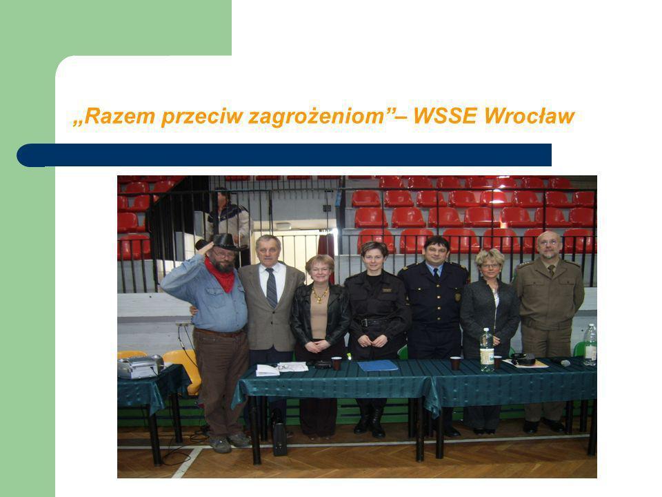 """""""Razem przeciw zagrożeniom – WSSE Wrocław"""