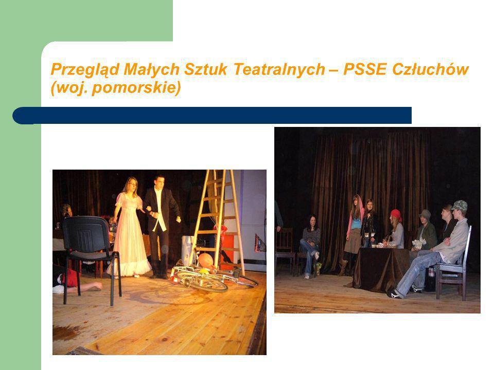 Przegląd Małych Sztuk Teatralnych – PSSE Człuchów (woj. pomorskie)