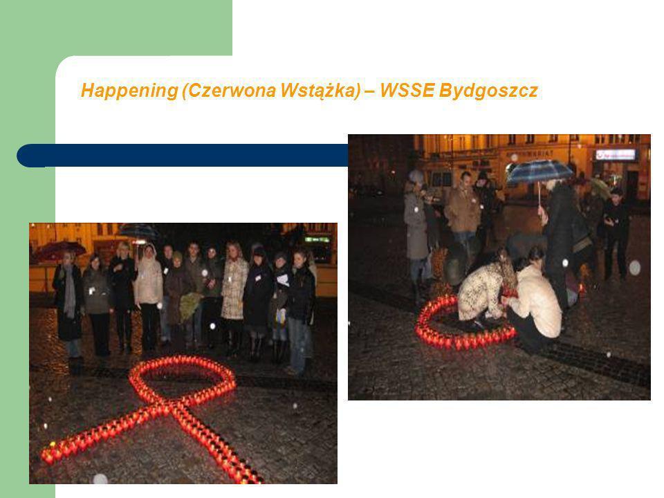 Happening (Czerwona Wstążka) – WSSE Bydgoszcz