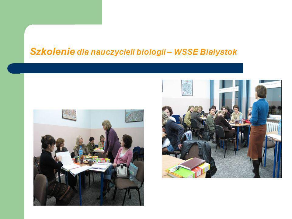 Szkolenie dla nauczycieli biologii – WSSE Białystok
