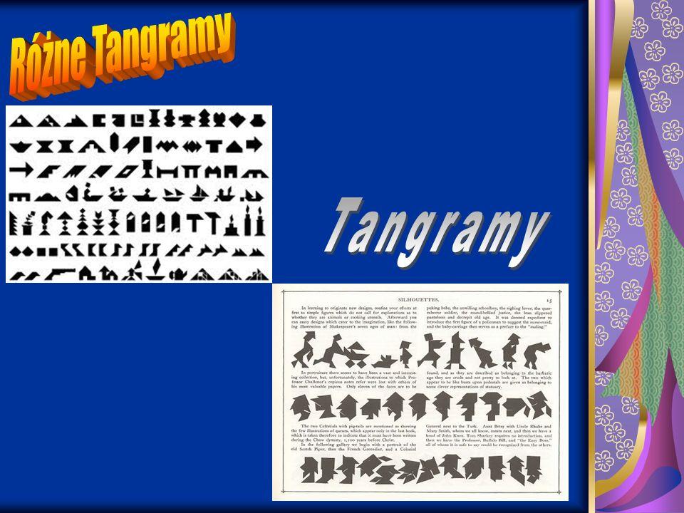 Różne Tangramy Tangramy