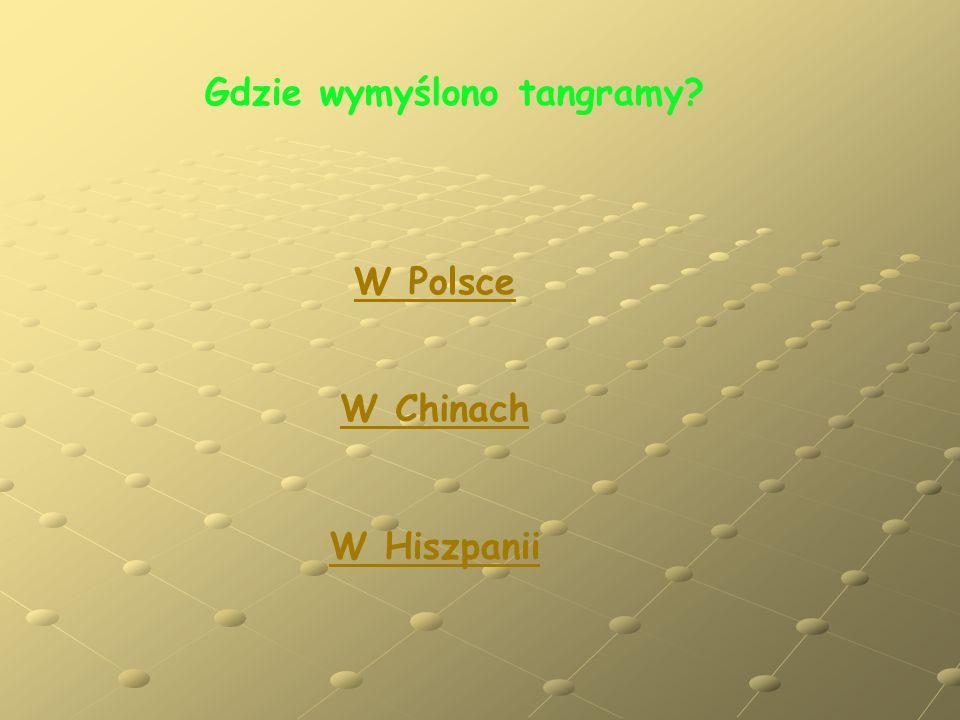 Gdzie wymyślono tangramy