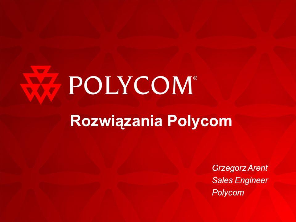 Grzegorz Arent Sales Engineer Polycom