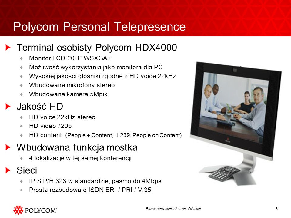 Polycom Personal Telepresence