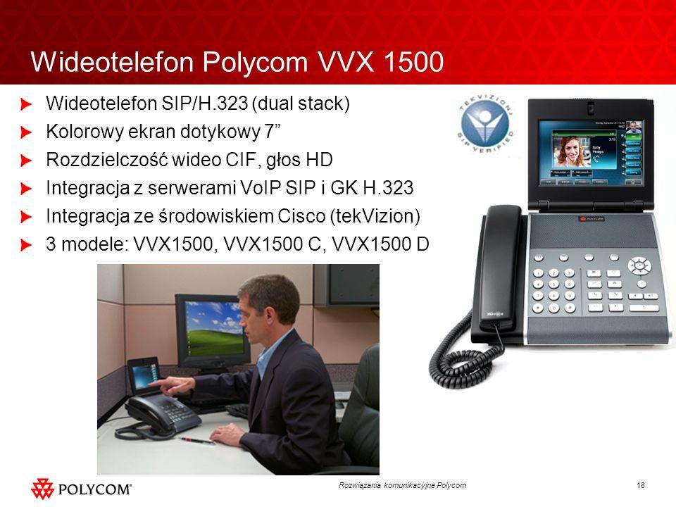Wideotelefon Polycom VVX 1500