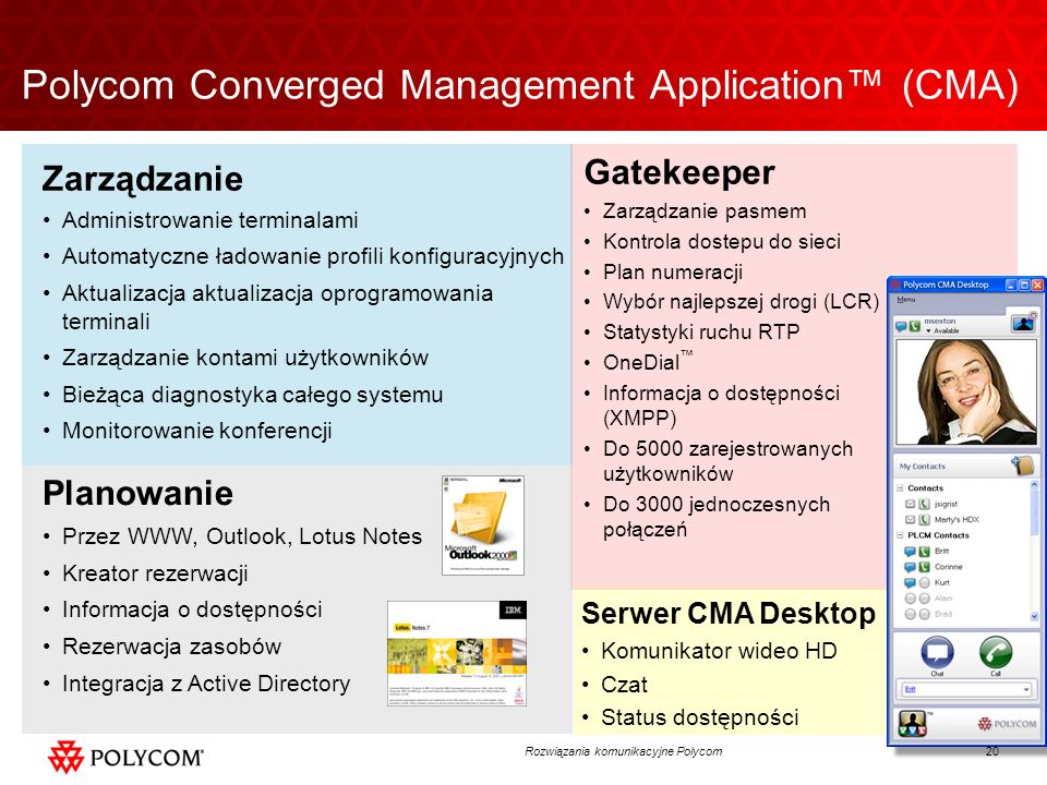 Polycom Converged Management Application™ (CMA)