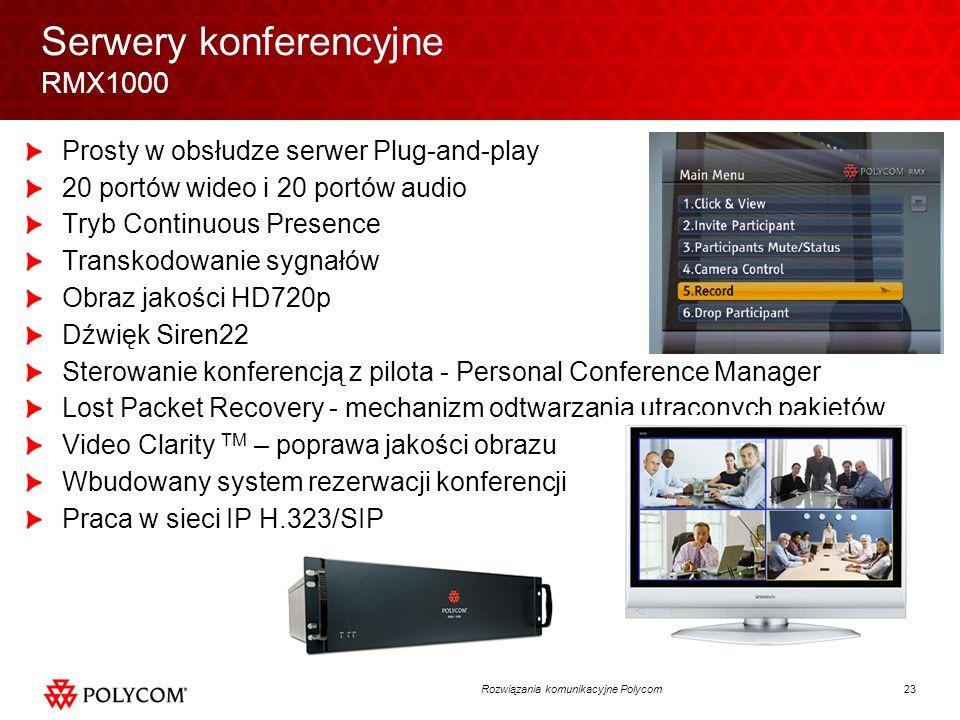 Serwery konferencyjne RMX1000