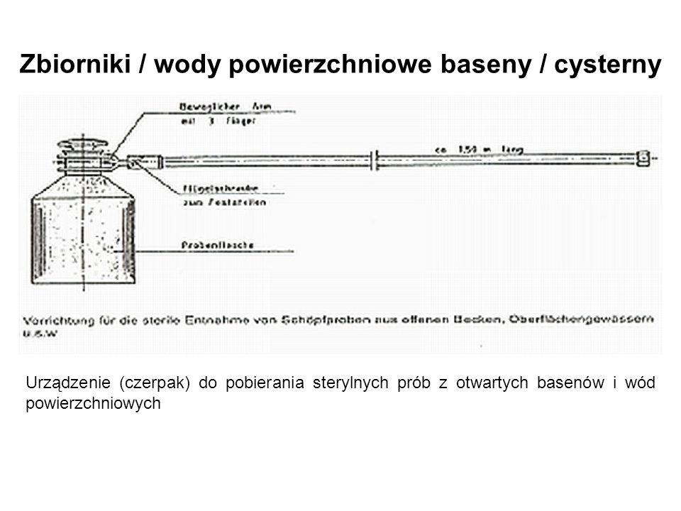 Zbiorniki / wody powierzchniowe baseny / cysterny