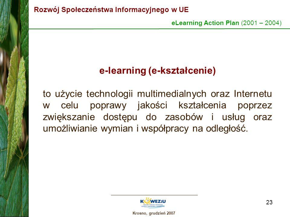 e-learning (e-kształcenie)