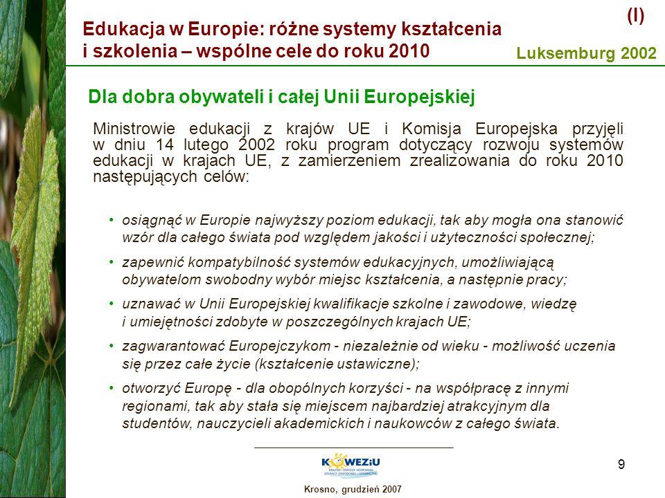Dla dobra obywateli i całej Unii Europejskiej