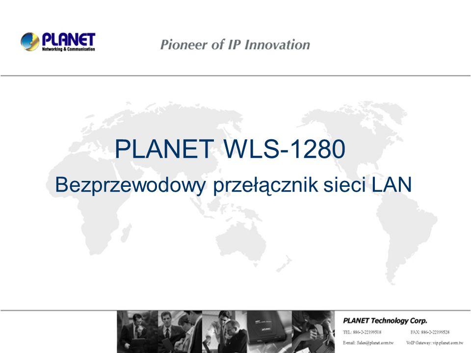 PLANET WLS-1280 Bezprzewodowy przełącznik sieci LAN