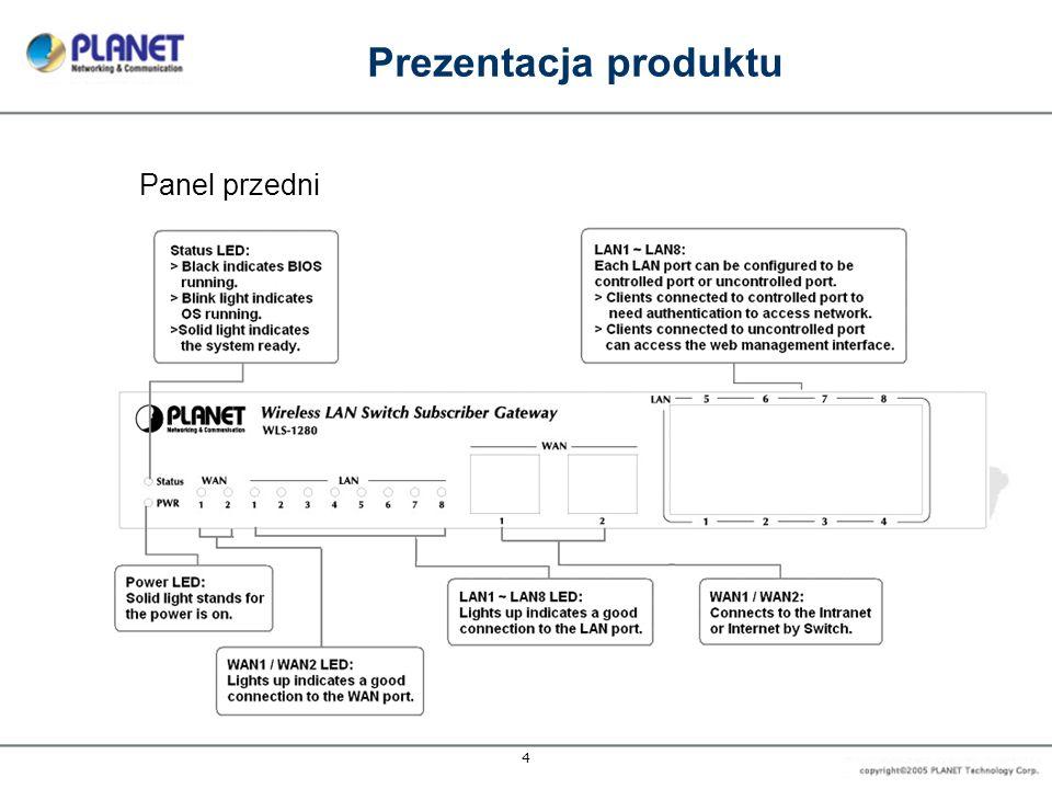 Prezentacja produktu Panel przedni 4