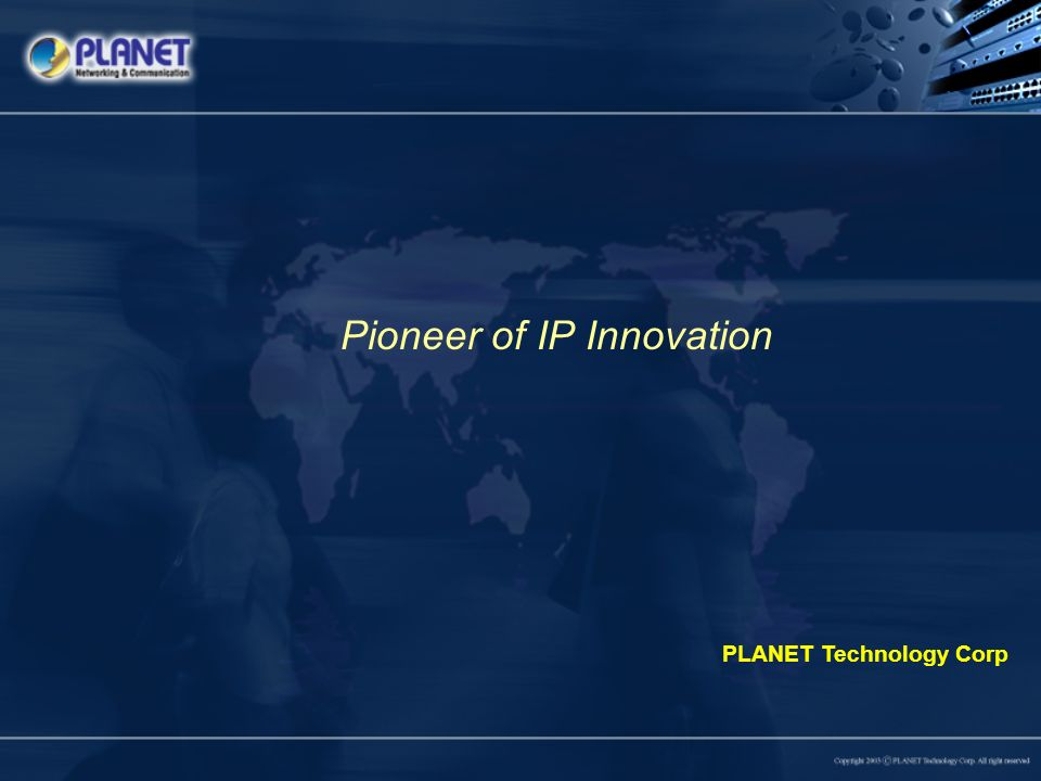 Pioneer of IP Innovation